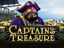 Автомат Captains Treasure: играйте онлайн на деньги